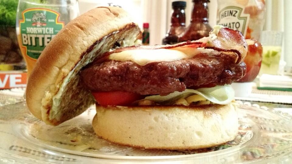 Hambúrguer de Carneiro
