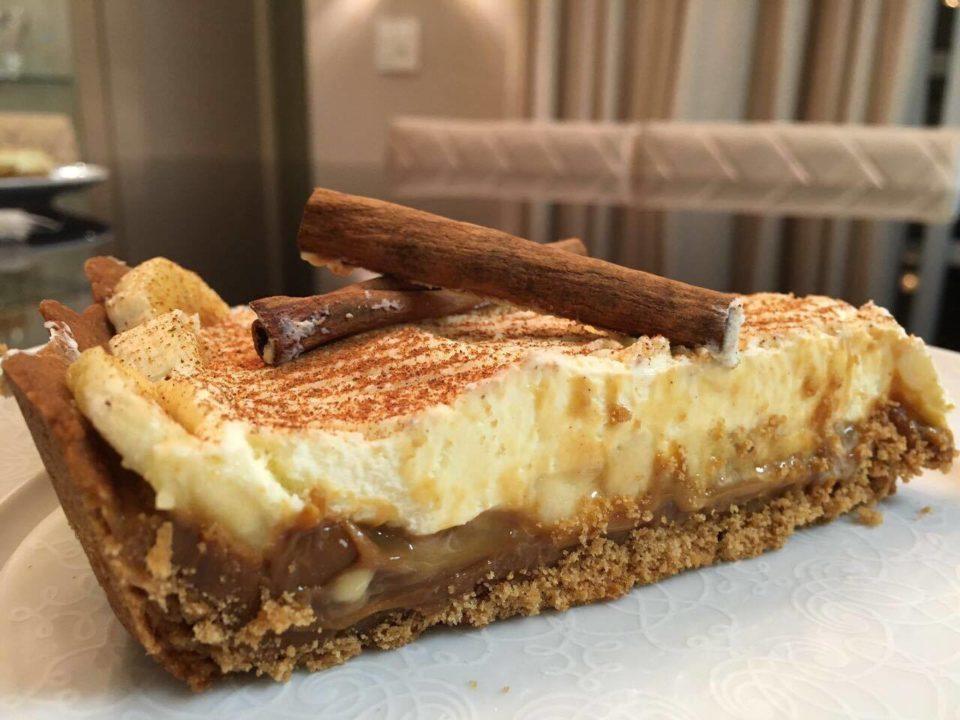 Torta pronta para servir, simplesmente deliciosa!