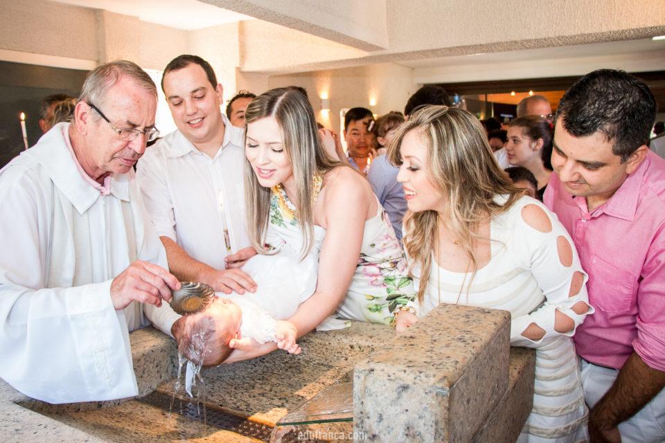 O batismo de fato <3