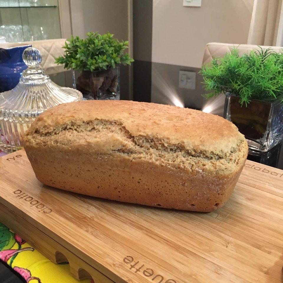 Pão caseiro: essa receita é fácil e simples.