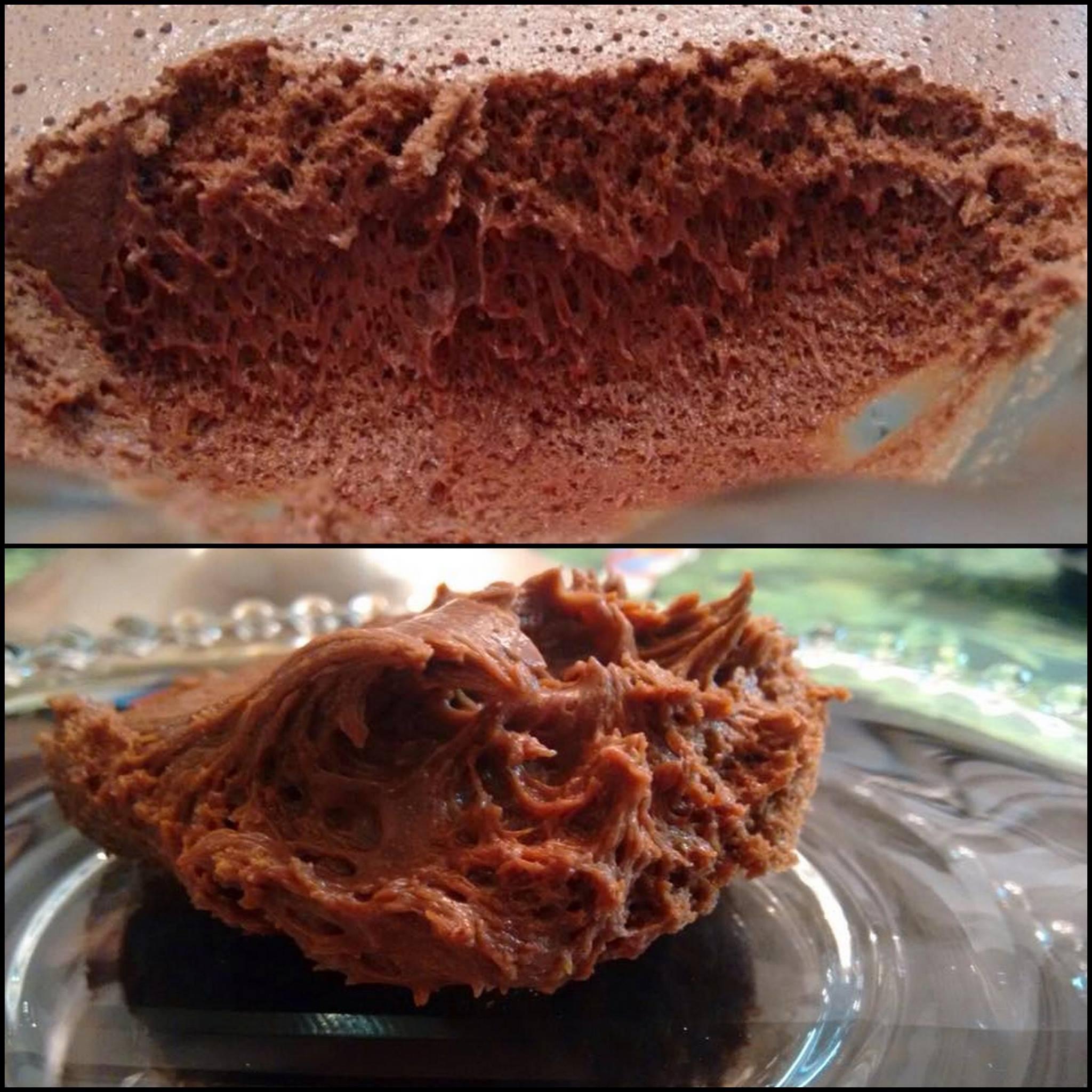 Mousse de Chocolate com textura perfeita!